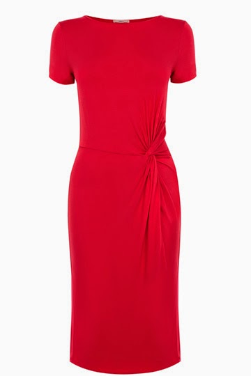 oasis red dress