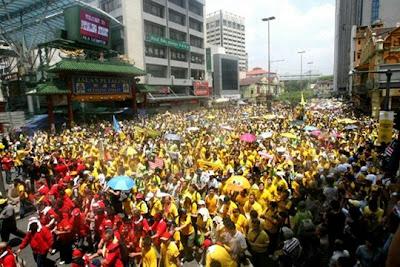 demonstrasi jalanan