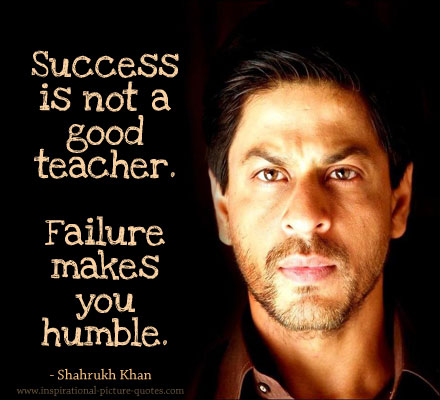 Shahrukh Khan Picture Quote