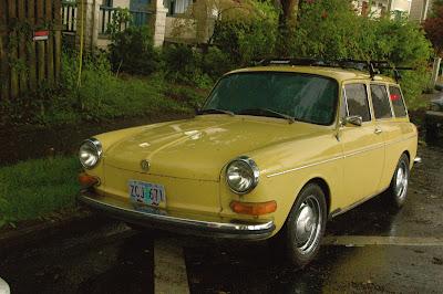 1973 Volkswagen 1600 Squareback Wagon.