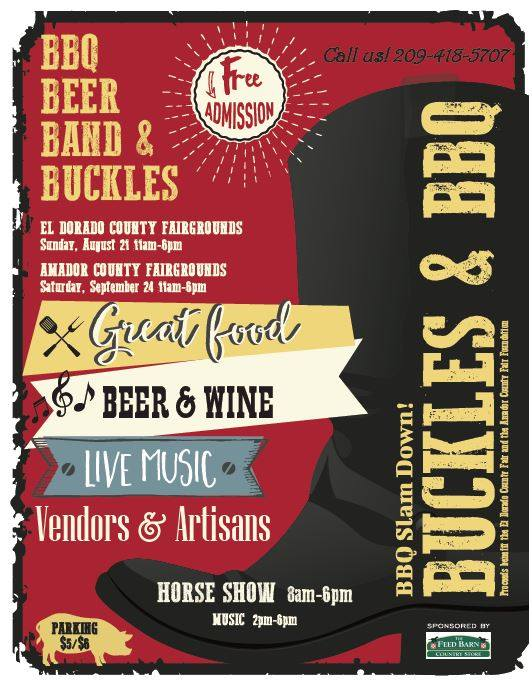 Buckles & BBQ - Sat Sept 24