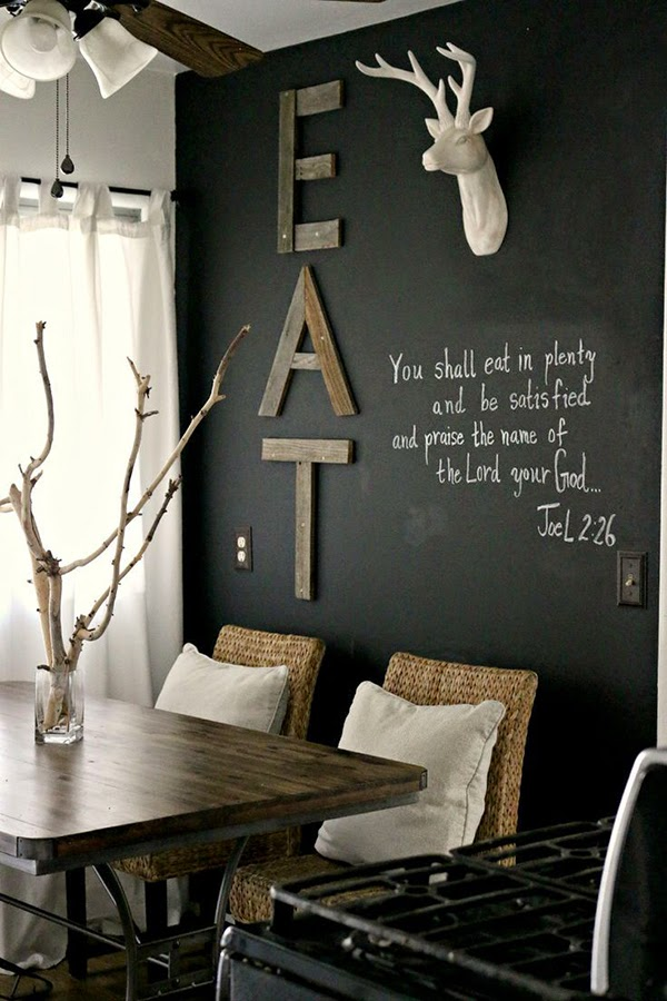 decorar-pintura-pizarra-comedor
