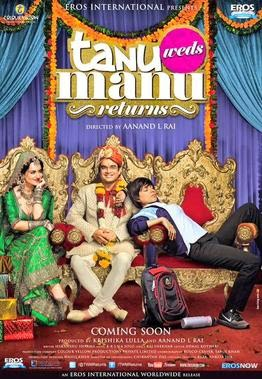 Watch Tanu Weds Manu Returns (2015) DVDRip Hindi Full Movie Watch Online Free Download