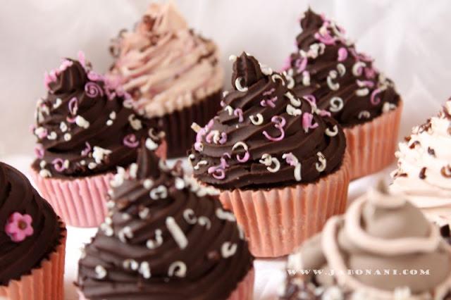 JABONES CUPCAKES DE CHOCOLATE