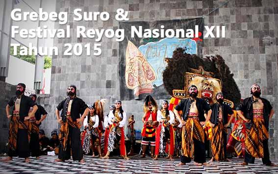 Informasi Jadwal Grebeg Suro dan Festival Reog Nasional XXII Tahun 2015