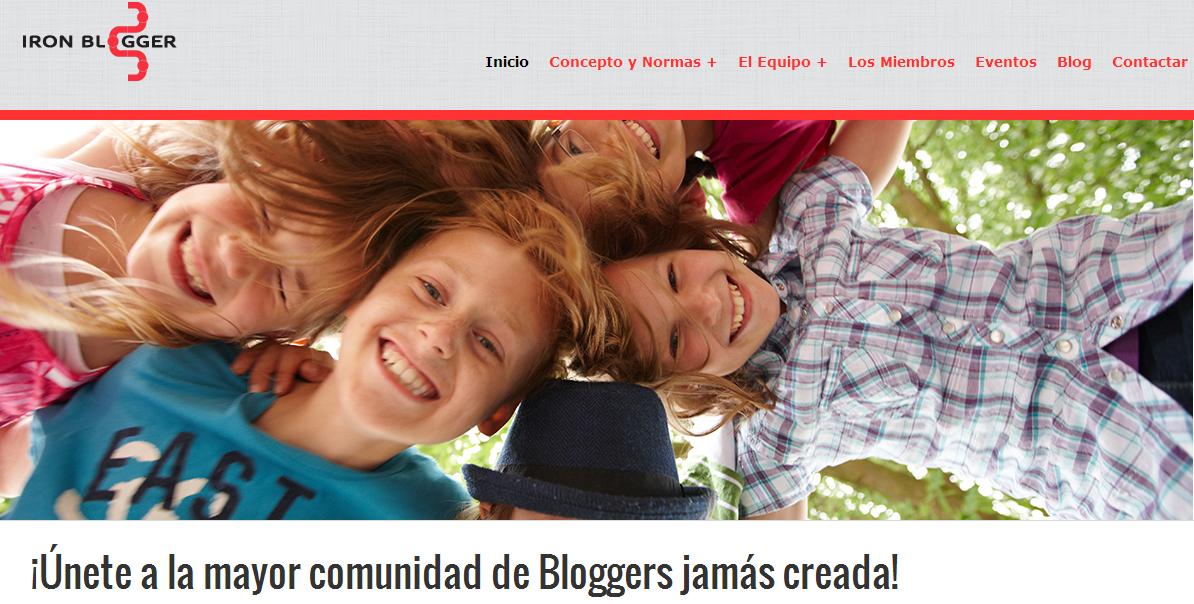 ¡Únete a la mayor comunidad de bloggers jamás creada!