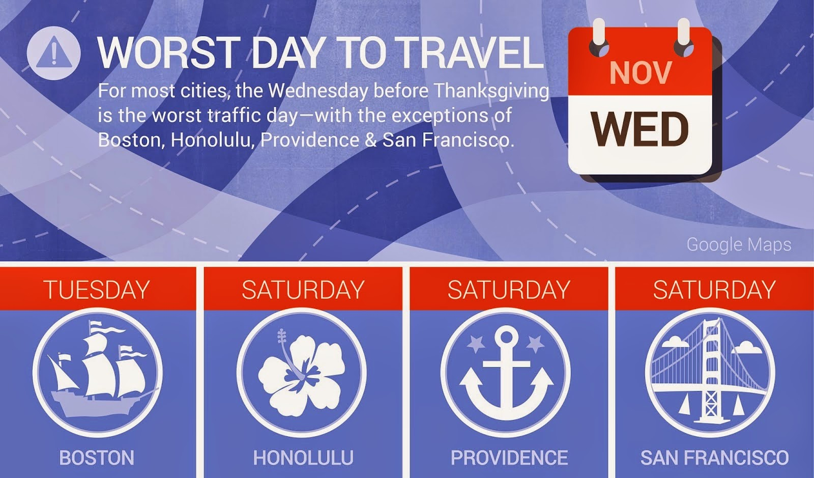 Thanksgiving Travel Tips From Google
