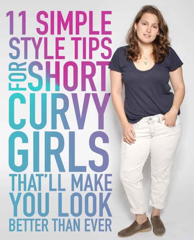 11 Simple Style Tips For Short Curvy Girls That'll Make You Look Better Than…