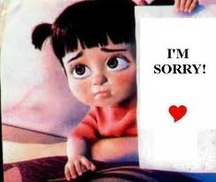 im sure if you were to count up all the words i say on a daily basis you would find i say sorry the most
