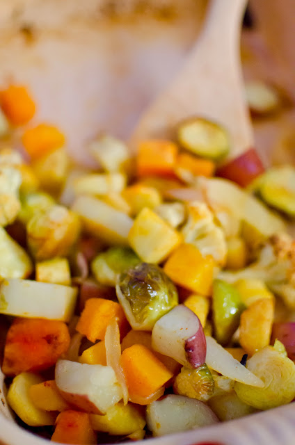 Roasted Vegetable Hash