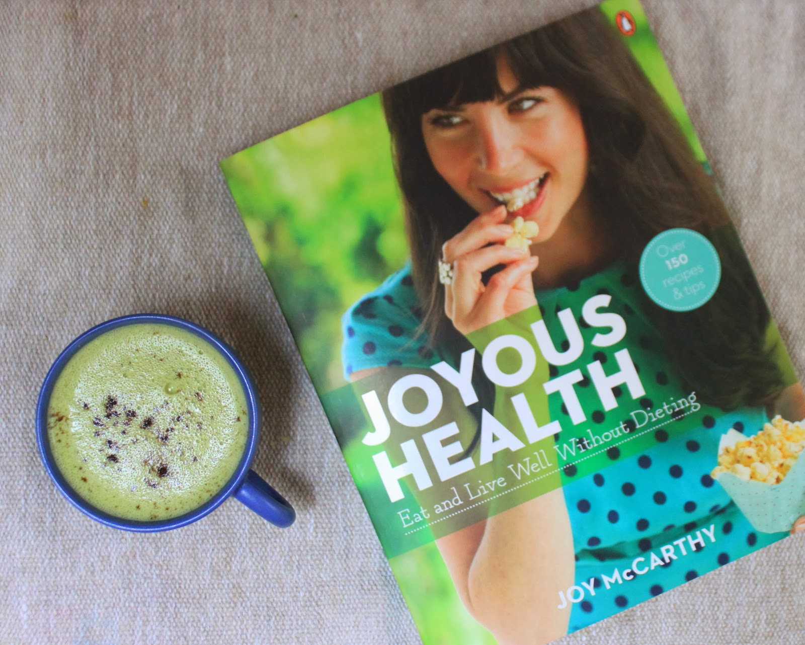 joyous health book review and interview with joy mccarthy
