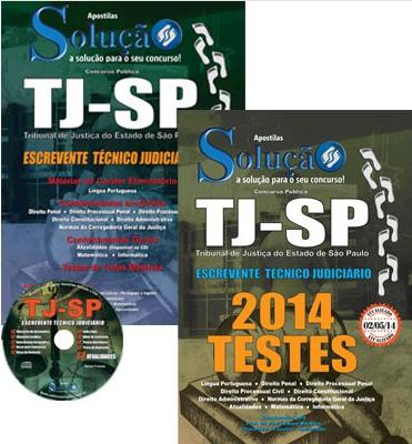 Apostila Tj-sp - Escrevente Técnico Judiciário - Nível Médio