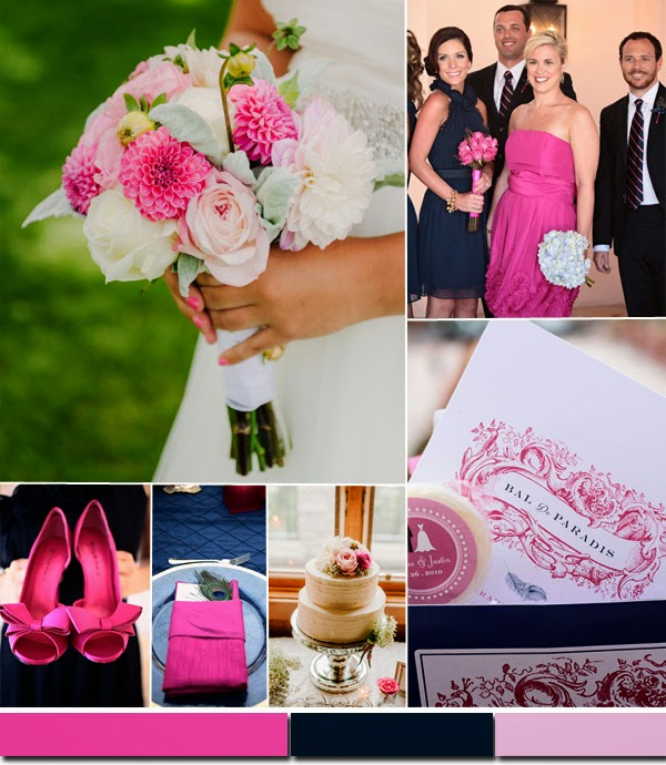 цветови тенденции в сватбите