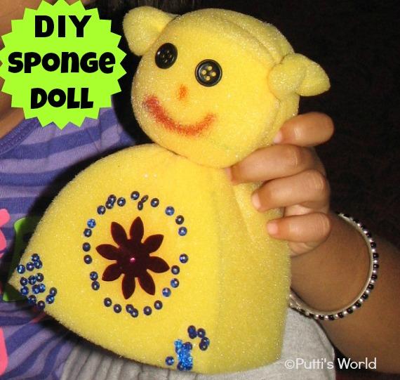 DIY Sponge Doll
