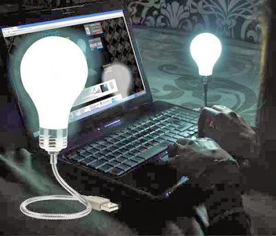 Bombilla Lámpara USB