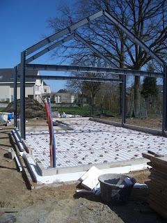 Kosten betonvloer storten garage