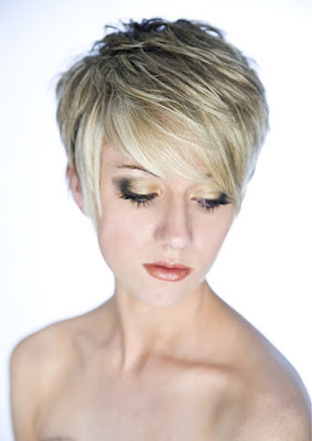 Short Choppy Hairstyles To Look Funky 6