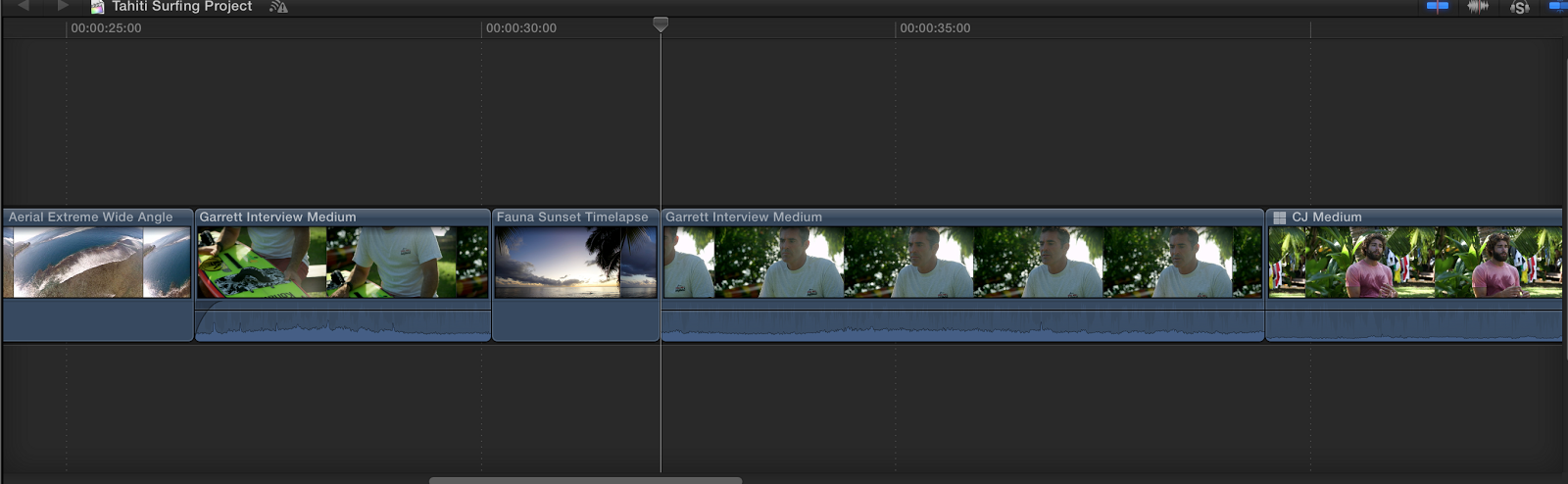 how to copy attributes in final cut pro x