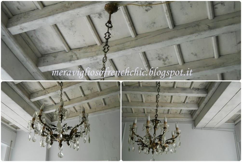 lampadario a soffitto : Lampadario Soffitto Travi A Vista : ... Chic : Work in progress :