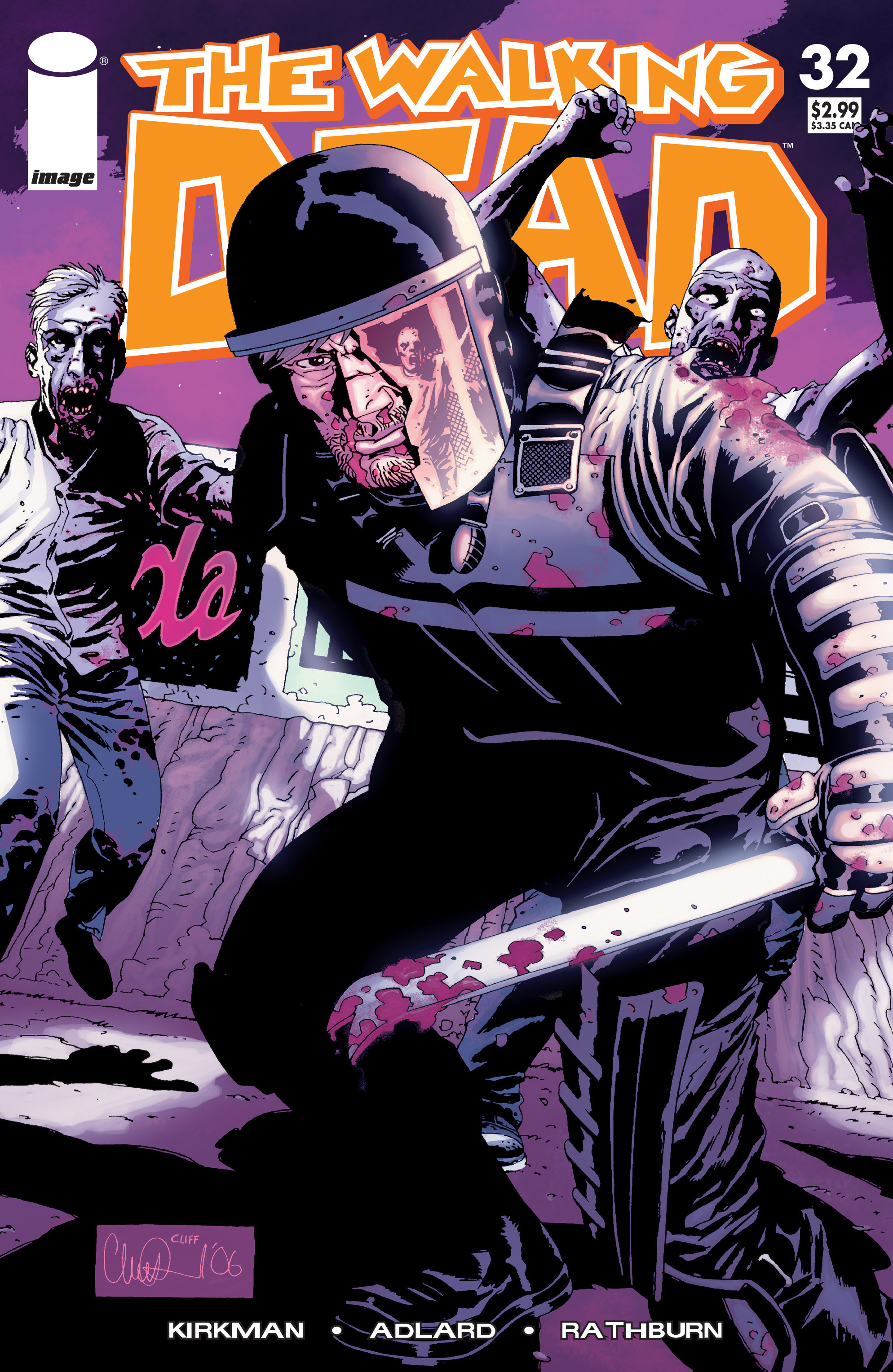The Walking Dead Issue #32 Page 1