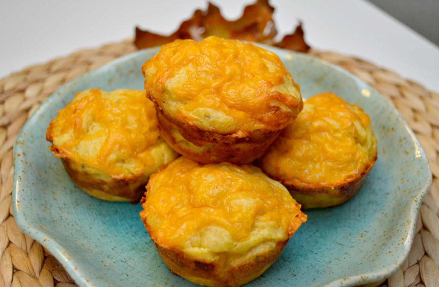 Test Kitchen: Pumpkin Cheddar & Rosemary Muffins