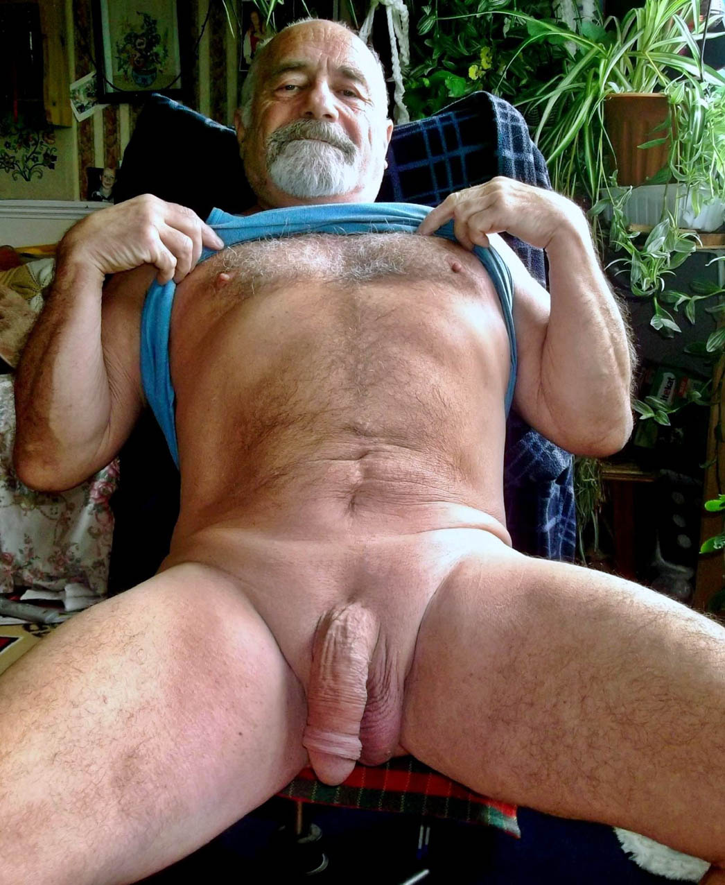 Gay Silverdaddy Cock