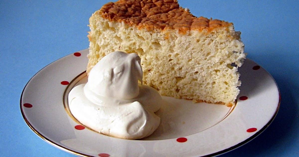 Vanilla Bean Chiffon Cake