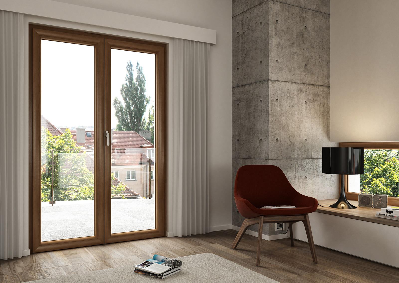 Consigli per la casa e l 39 arredamento meglio finestre in for Infissi pvc legno