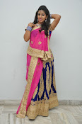 Pavani Gorgeous in half saree-thumbnail-8