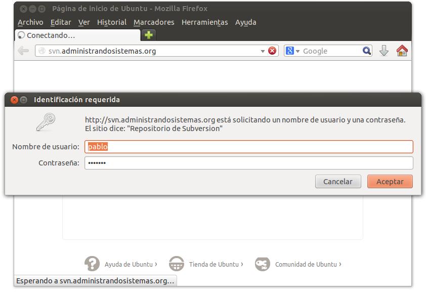 servidor subversion