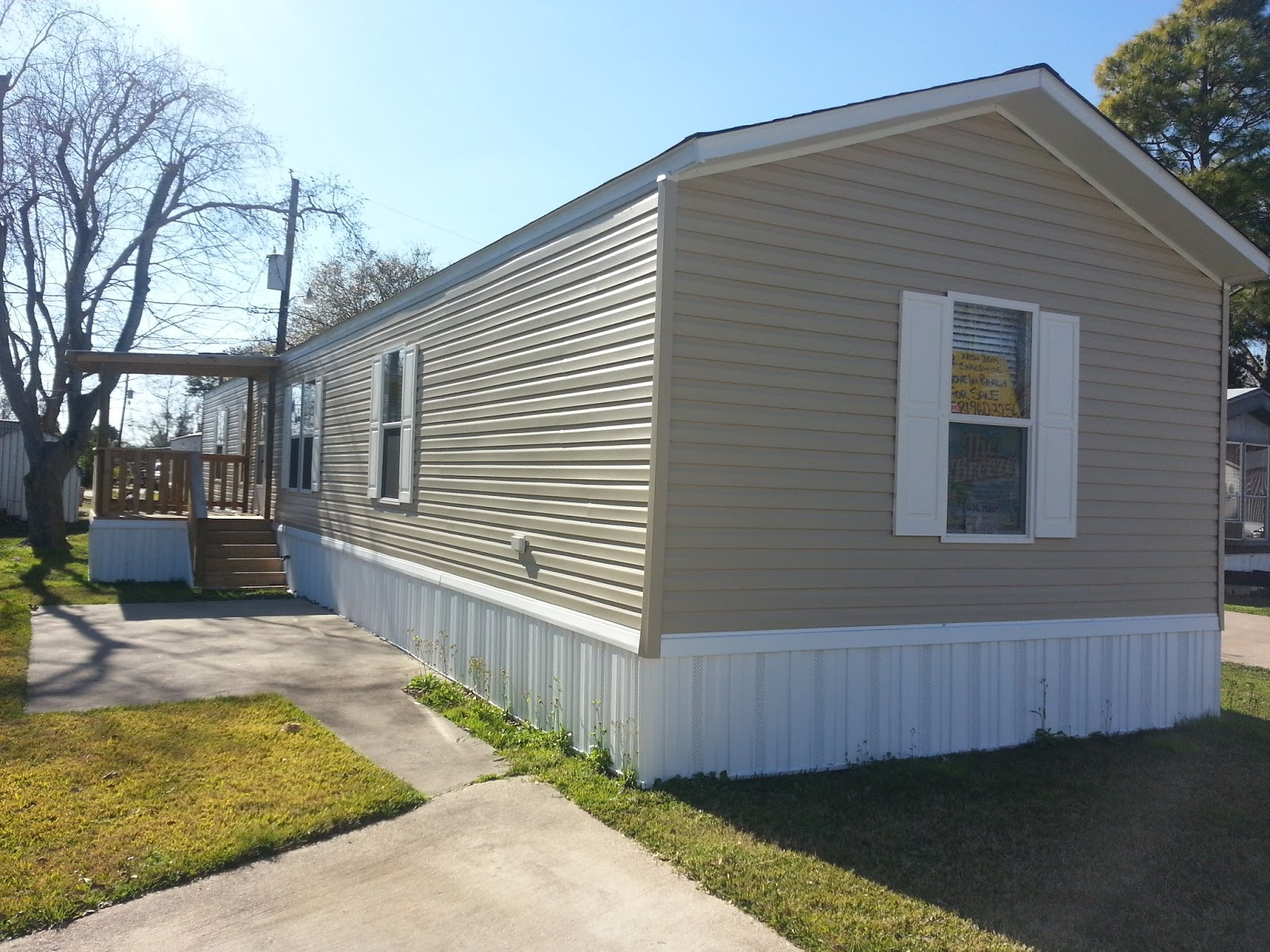 IF YOU HAVE A HOME 15 YEARS OLD OR NEWER AND MOVE IT INTO OUR PARK WE GREAT 1 2 PRICE LOT RENT DEAL FOR