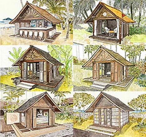 World of architecture and design toma house portable do for Feng shui in building a house