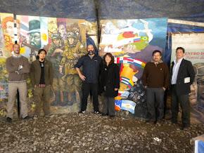 Pueblos Originarios y Malvinas. Carpa de los ex combatientes