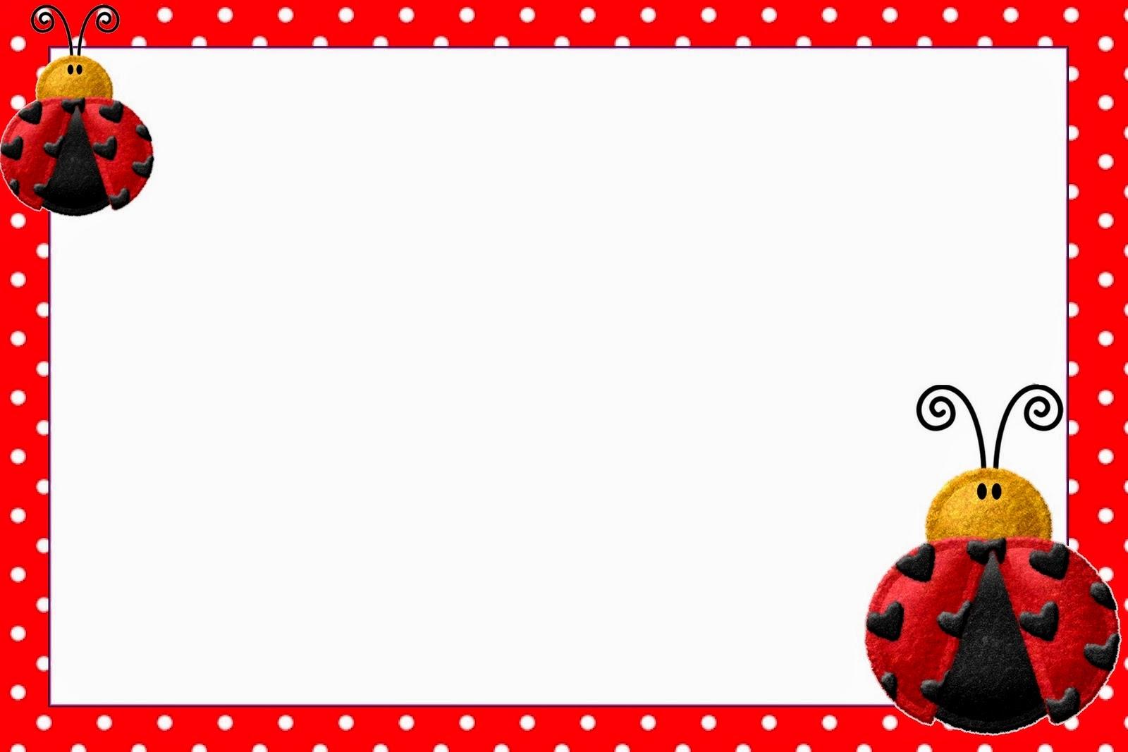 Ladybug Invitation Template - Resume Ideas - namanasa.com