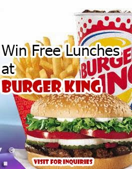 Burger King Lunches