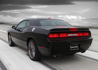 Dodge Challenger Rallye Redline (2012) Rear Side