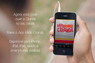 BAIXE O APLICATIVO DA CIRANDA FM E OUÇA A VOZ DO CAMPO NO CELULAR