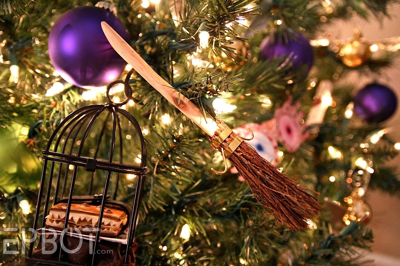 EPBOT: DIY Harry Potter Quidditch Broom Ornaments