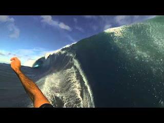 GMac Teahupo o Tahiti GoPro 3 Angles May 13 2013