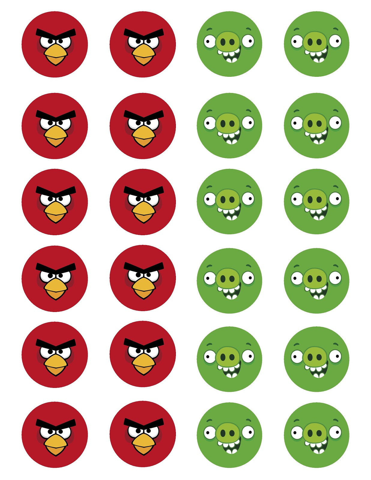 angry birds images to print - photo #10