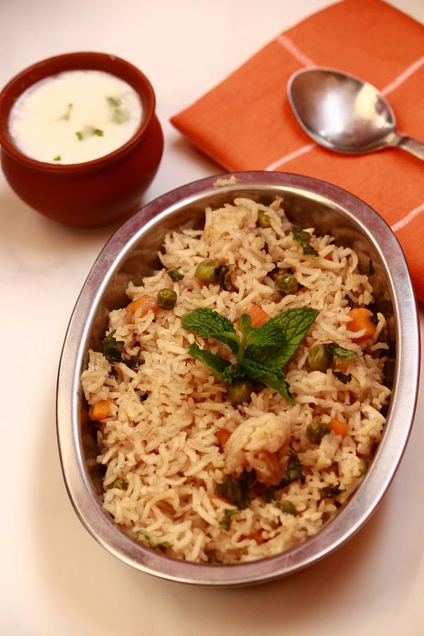 Chick Pea Rice or Channa Pulao Recipe | Neel's Corner