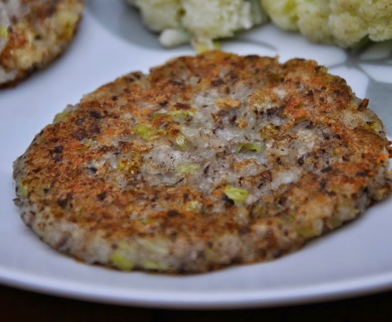 Hambúrguer de Batata e Portobello (vegana)