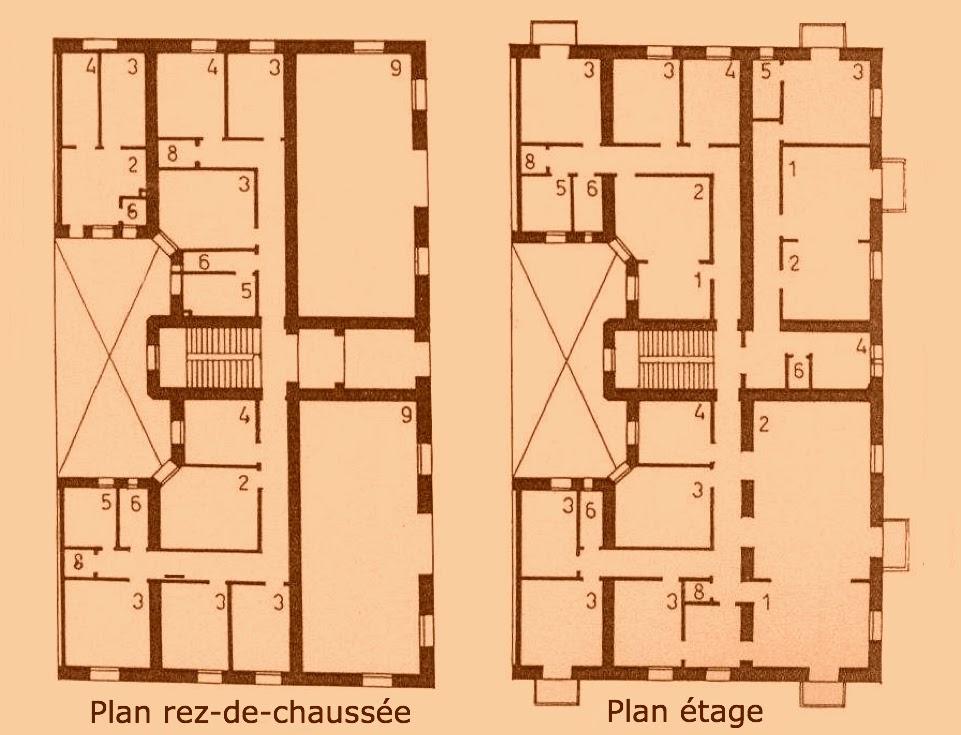 Immeuble de rapport (Grundriss)