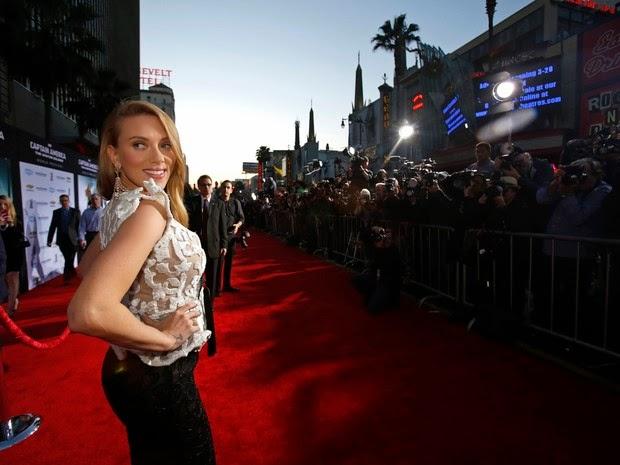 Scarlett Johansson em première de filme em Los Angeles