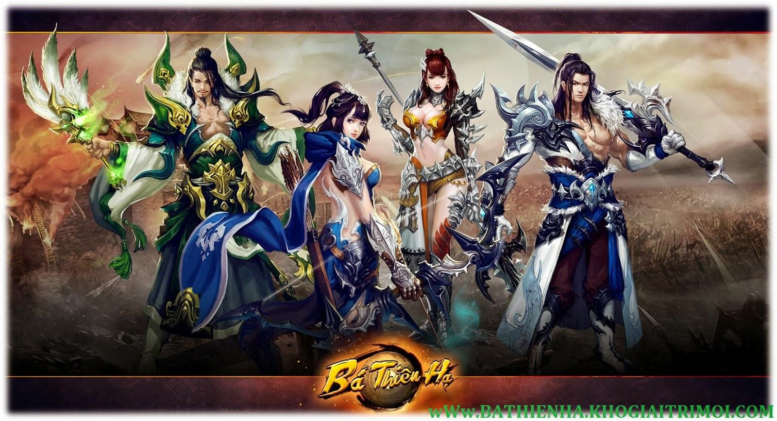 Tải game Bá Thiên Hạ miễn phí về điện thoại Android, iOS