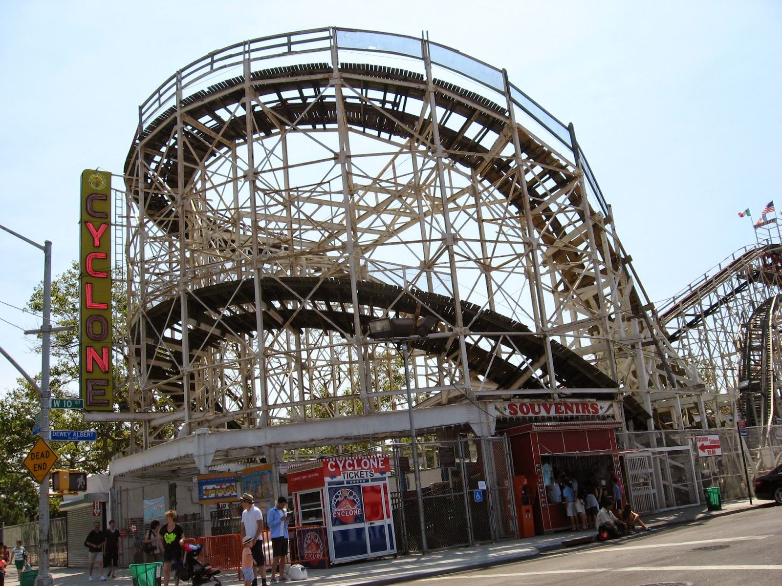 how to get to coney island