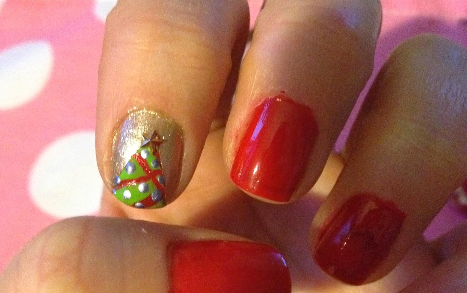 Y tu, ¿cómo te vas a pintar las uñas hoy?: Feliz Navidad!!