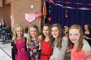 Must Goes Audreys 6th Grade Valentine Dance