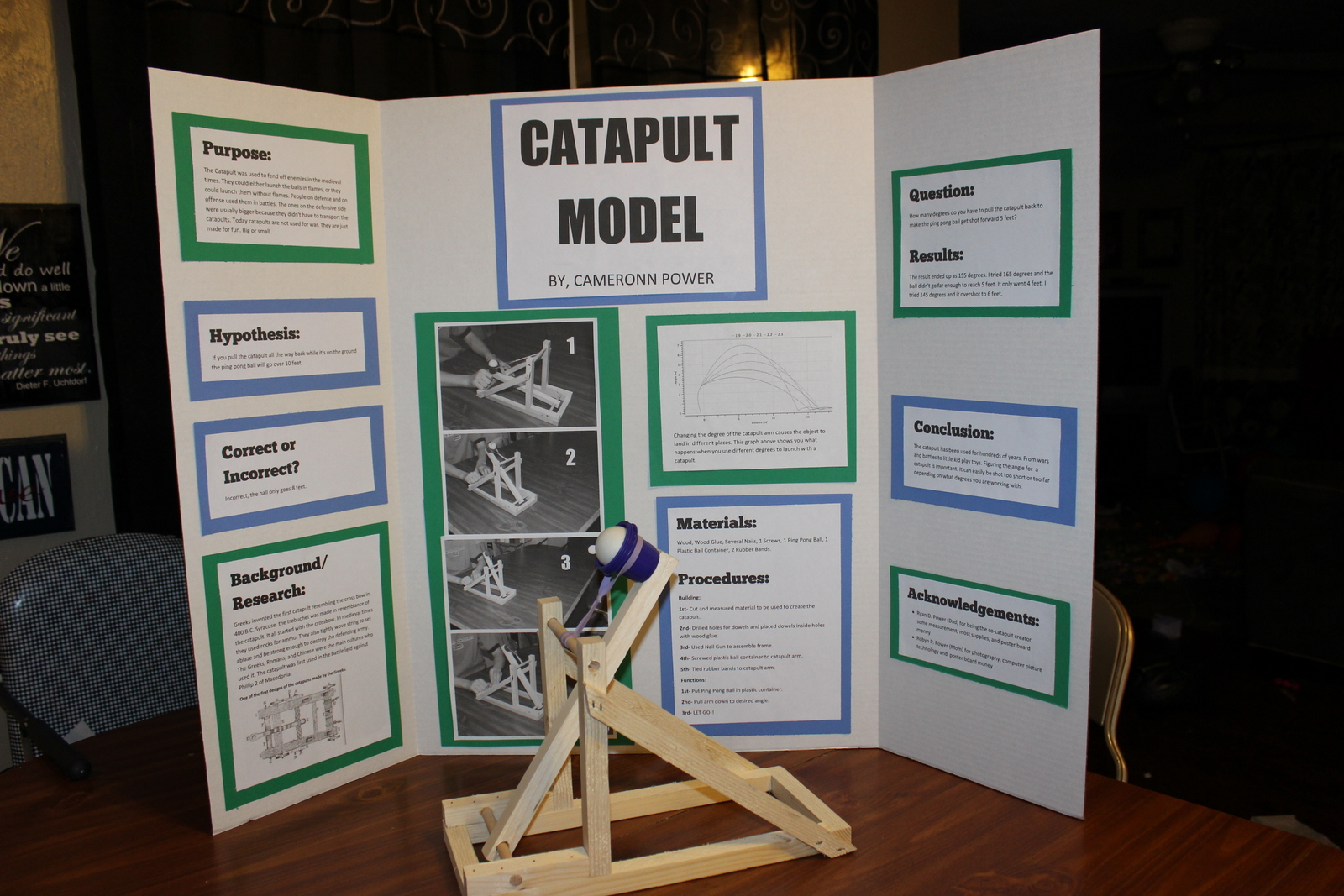 Catapult Science Project on Cell Projects For 5th Graders