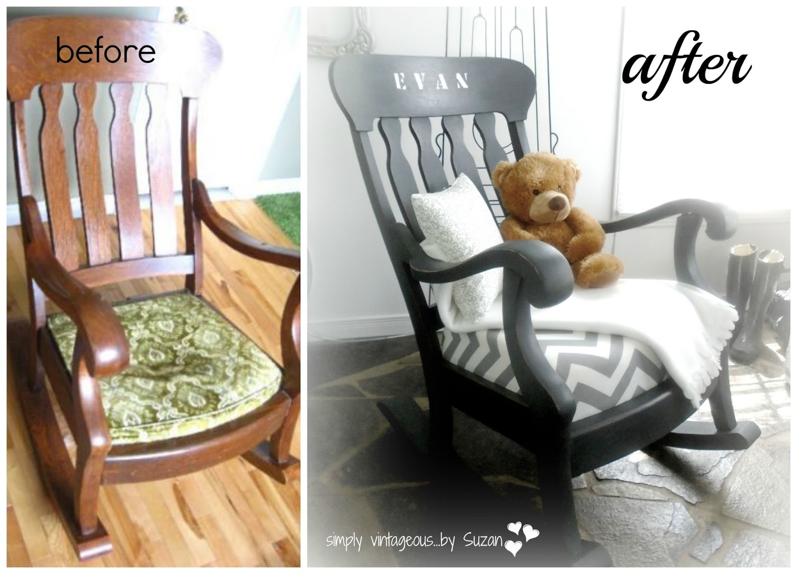 ROCKING CHAIR MAKEOVER!. Full resolution  pic, nominally Width 1600 Height 1152 pixels, pic with #967035.